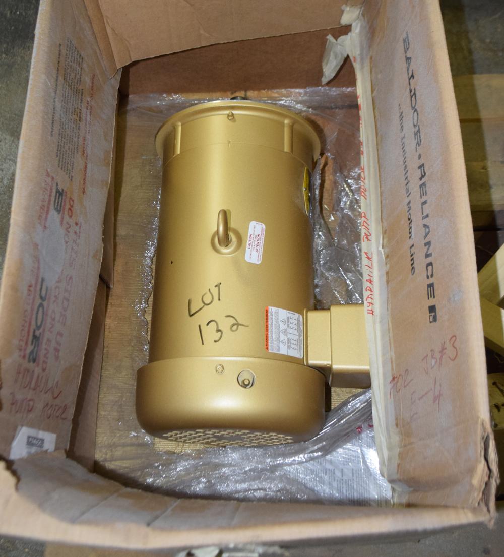 Lot 132 - Unused Baldor Motor