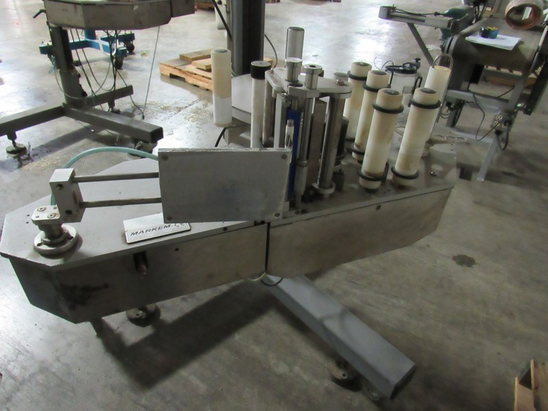 Markem CE Label Printer Applicator for Boxes on Tripod -- - (LOCATED IN IOWA, RIGGING INCLUDED - Image 6 of 7