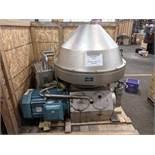 Tetrapak HMPRX718HGV-74C Milk Separator - Capacity 45,000 - 55,000 It.per.hr., Complete with Allen
