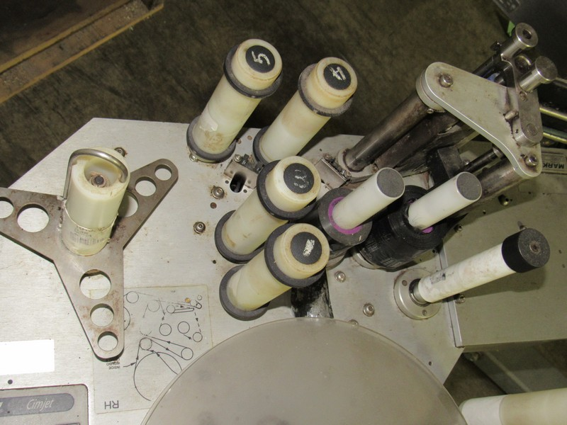 Markem CE Label Printer Applicator for Boxes on Tripod -- - (LOCATED IN IOWA, RIGGING INCLUDED - Image 3 of 7