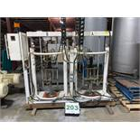 RSJ Dual Head Drum Pump - Pharma quality for metal kegs and Pails -- Air and Hydraulic -- (LOCATED