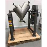 Patterson Kelley 2 CFT Twin Shell Cross Flow Blender. 365 Lbs/CFT Material Density, driven by a 1