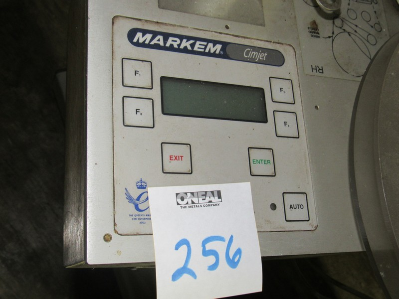 Markem CE Label Printer Applicator for Boxes on Tripod -- - (LOCATED IN IOWA, RIGGING INCLUDED - Image 2 of 7