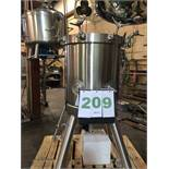 Lee Kettle, Never Used Stainless Steel 316L, 150-Liter; Mirror Finish Inside, Working Pressure 150