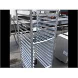 Aluminum Tray Cart on Casters (Located Port Byron, NY)