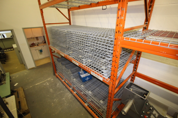 Lot 8 - Redi Rack Pallet Racking (Approx 17 Sections) Includes Uprights, Beams, Screens