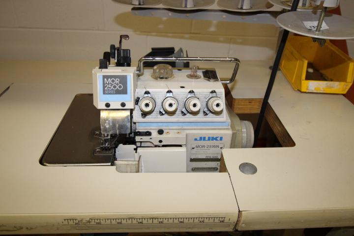 Lot 39 - Juki Overlock Serger Sewing Machine 3phase Pneumatic, M#MOR 2516N