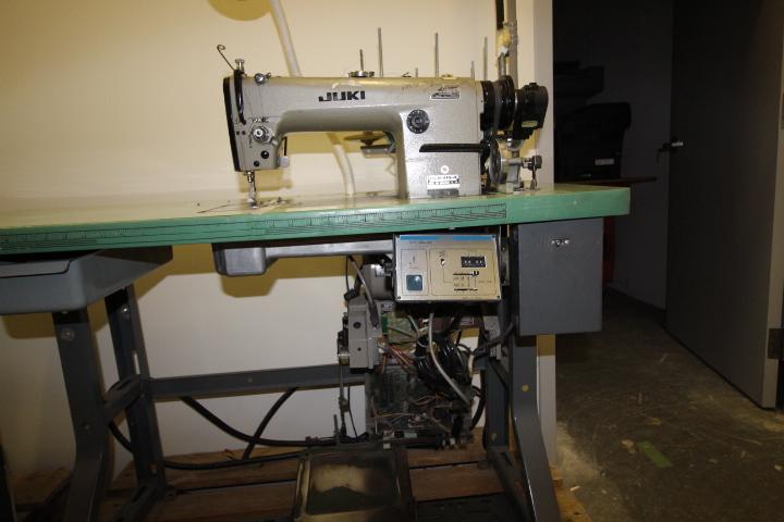 Lot 35 - Juki Straight Stitch Sewing Machine 3phase M#DLN-415-4