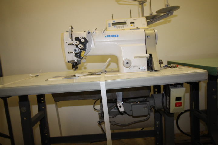 Lot 34 - Juki Double Needle Sewing Machine 110volt Single Phase, M#LH-3168-7