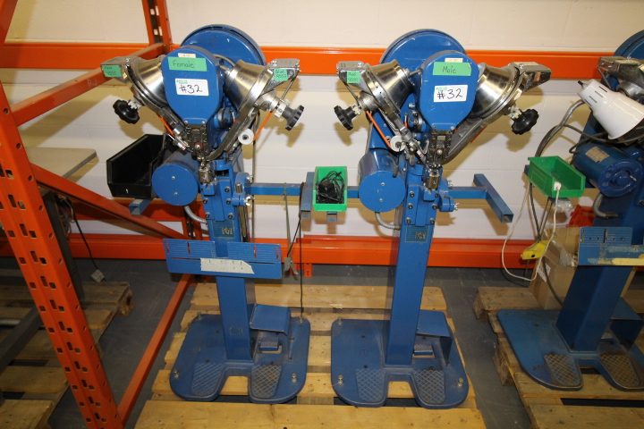 Lot 32 - Boutons M#TM200/DPK Automatic Button Fastening Machine (2 Units Male and Female )