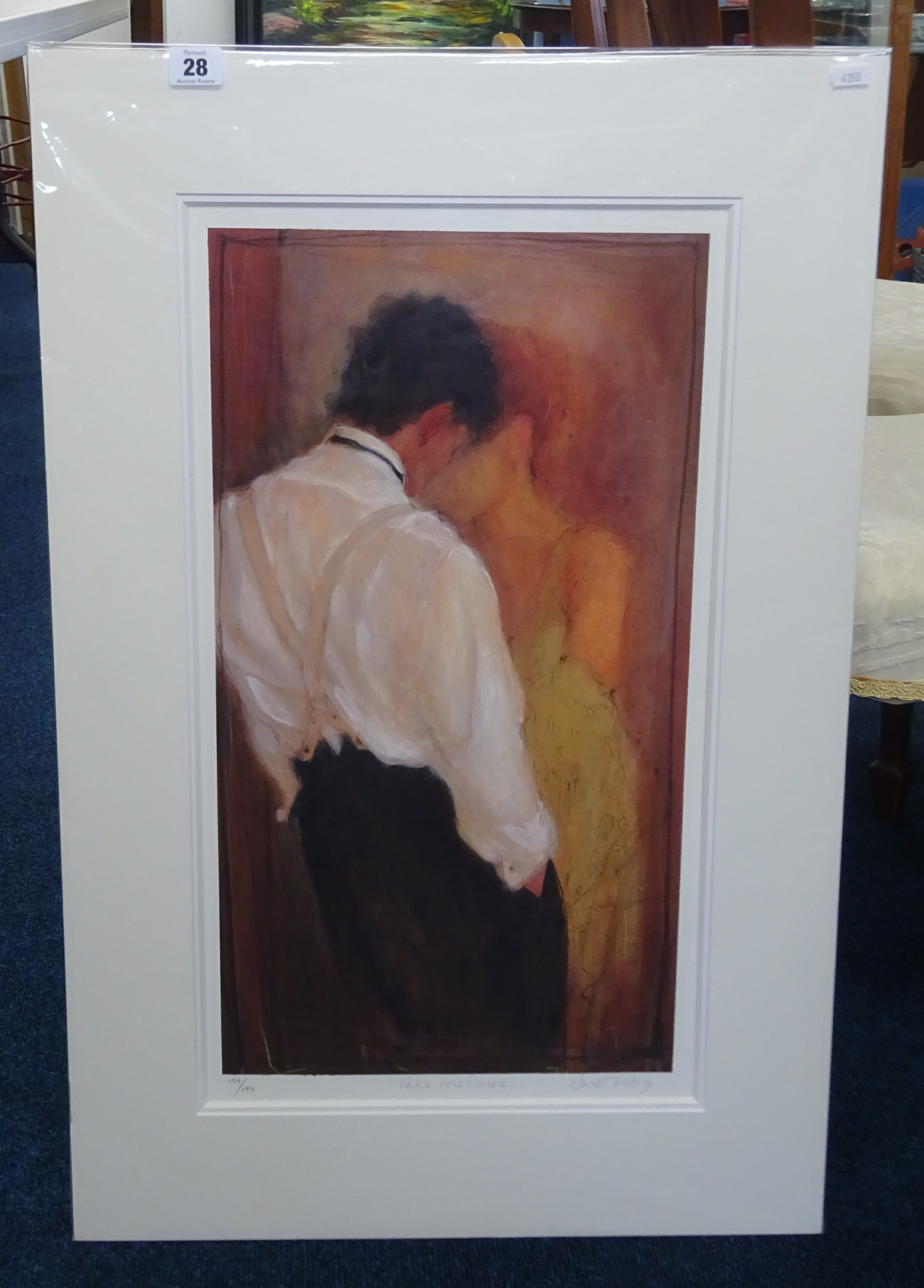 Lot 028 - Janet Treby, signed limited edition print 'Take me Home' 154/193, unframed.