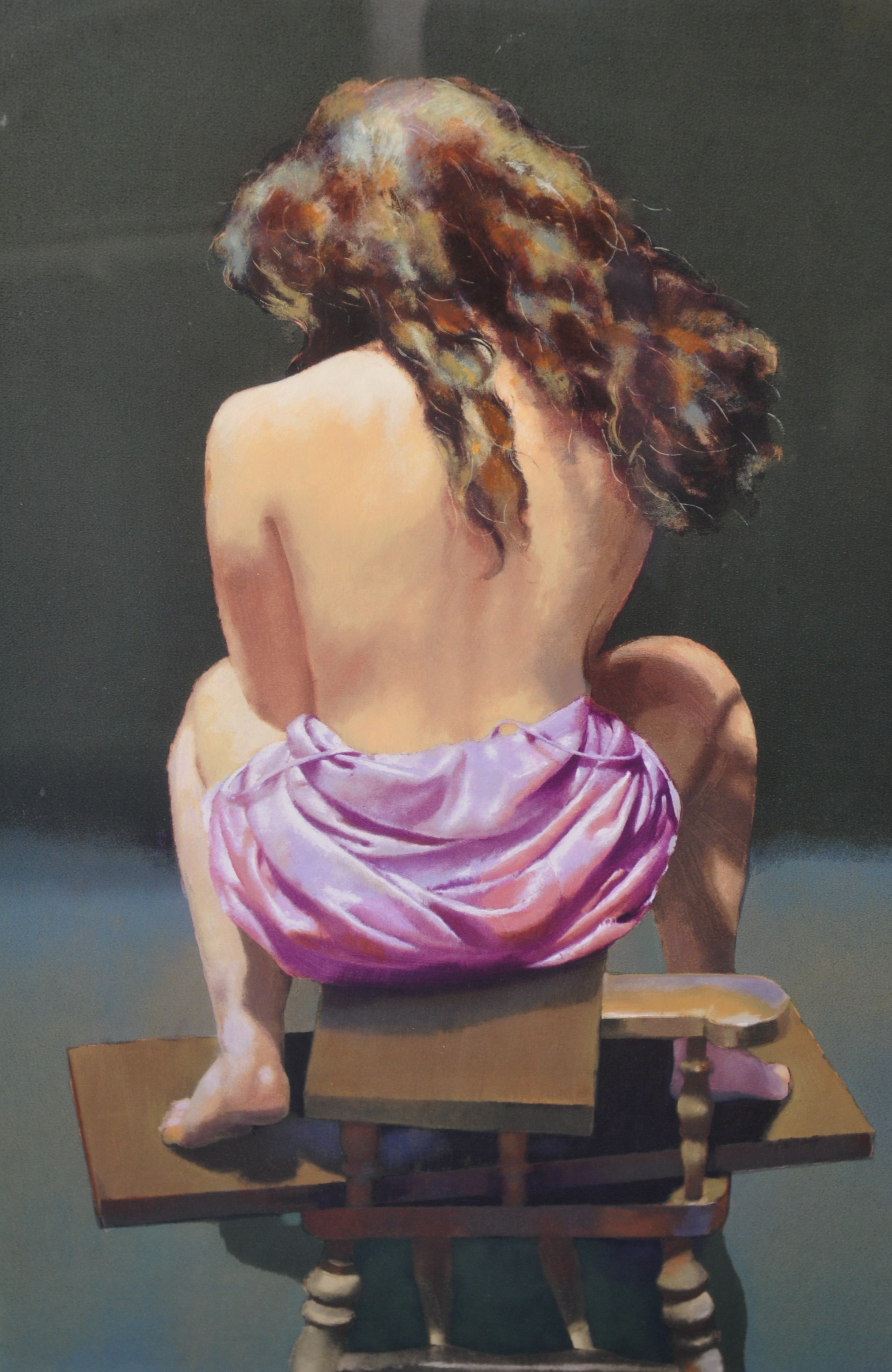 Lot 061 - Robert Lenkiewicz (1941-2002) 'Esther Rear view' Project 18, 1994, number 311/ 375, with