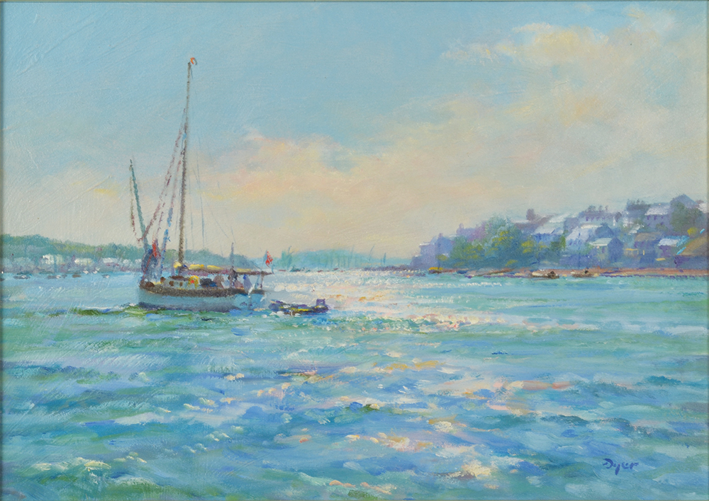 Lot 31 - TED DYER Sunlit Water,
