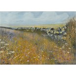 Lot 35 - C PRESTON Sunshine and Showers,