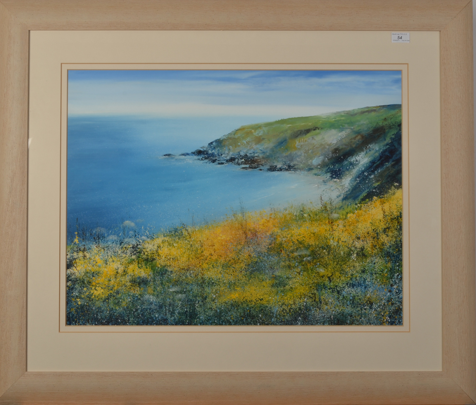 Lot 54 - AMANDA HOSKIN Yellow Gorse,