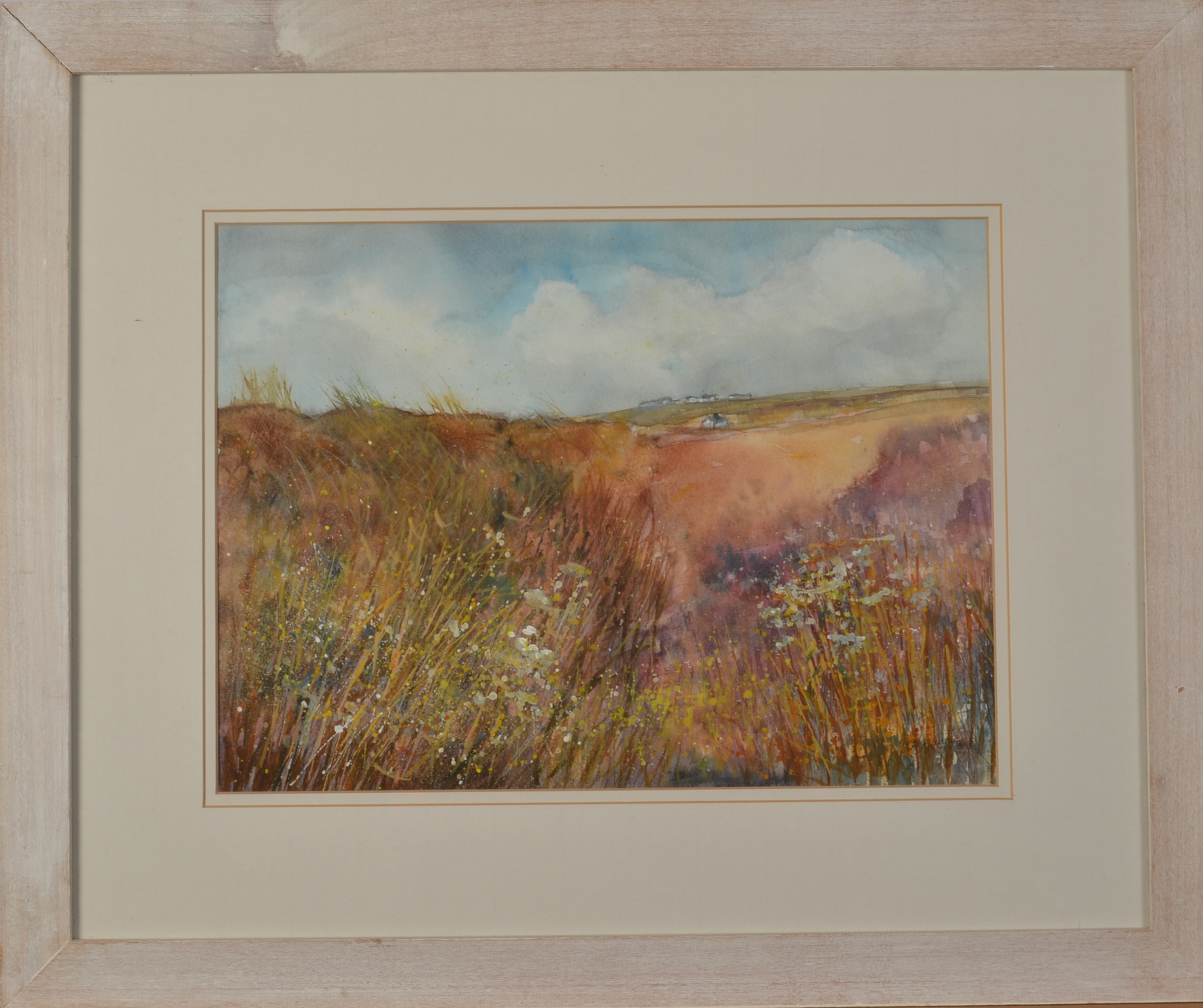 Lot 39A - C PRESTON Towards Lizard Mixed media Signed 28 x 38cm