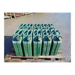 Qty 10 x Unissued NATO Issue 20L Jerry Cans.