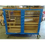 Double Sided Mobile Tool Trolley.