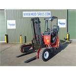 2003 Moffett Mounty M2003 Truck Mounted Forklift complete with Meijer Hydraulic Extension Forks