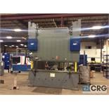 1999 LVD STRIPPIT 350 BH 10 GAB CNC hydraulic press brake, sn 25908, 11 foot, CADMAN 5 Axis CNC