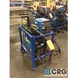 Miller INVISION 304P DC inverter arc welder, 95 max OCV, 3 phase, With 24V wire feed