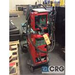 Fronius portable welder including TRANSPULS SYNERGIC 4000 power source and VR4000 welder and wire