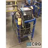 Miller XMT 304 CC/CV DC inverter arc welder, 96 max OCV, 3 phase, With 60 Series wire feed
