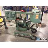 Ellis 1600 horizontal metal cutting bandsaw, 11 inch max capacity, 1 hp, 1 phase with out feed