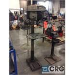 Delta 17-950L 17 inch pedestal drill press, 1/2 hp , 1 phase