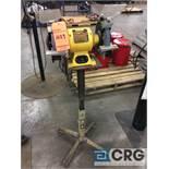 DeWalt DW758 8 inch double end pedestal grinder with pedestal base, 1 phase