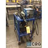 Miller XMT 304 CC/CV DC inverter arc welder, 96 max OCV, 3 phase, With 24V wire feed