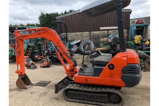 DS - 1999 AIRMAN AX15-2 GL 1 5 TONNE TRACKED MINI DIGGER / EXCAVATOR