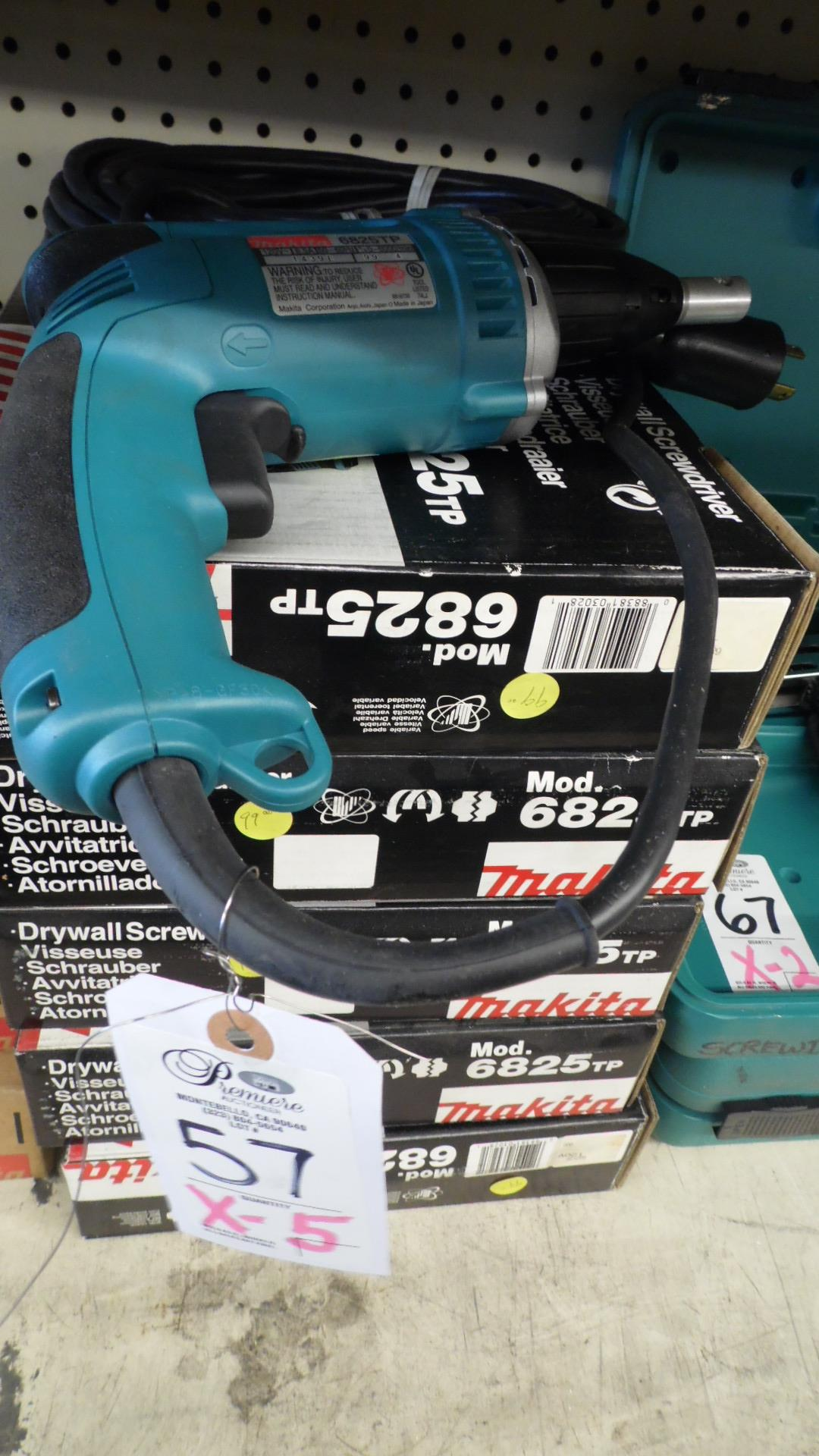 Lot 57 - MAKITA DRYWALL SCREW DRIVER
