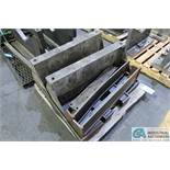 SKID V-BLOCKS STEEL RISERS