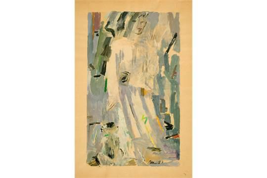 Mutzenbecher, Franz (Hamburg 1880 - 1968 Berlin)Frau mit