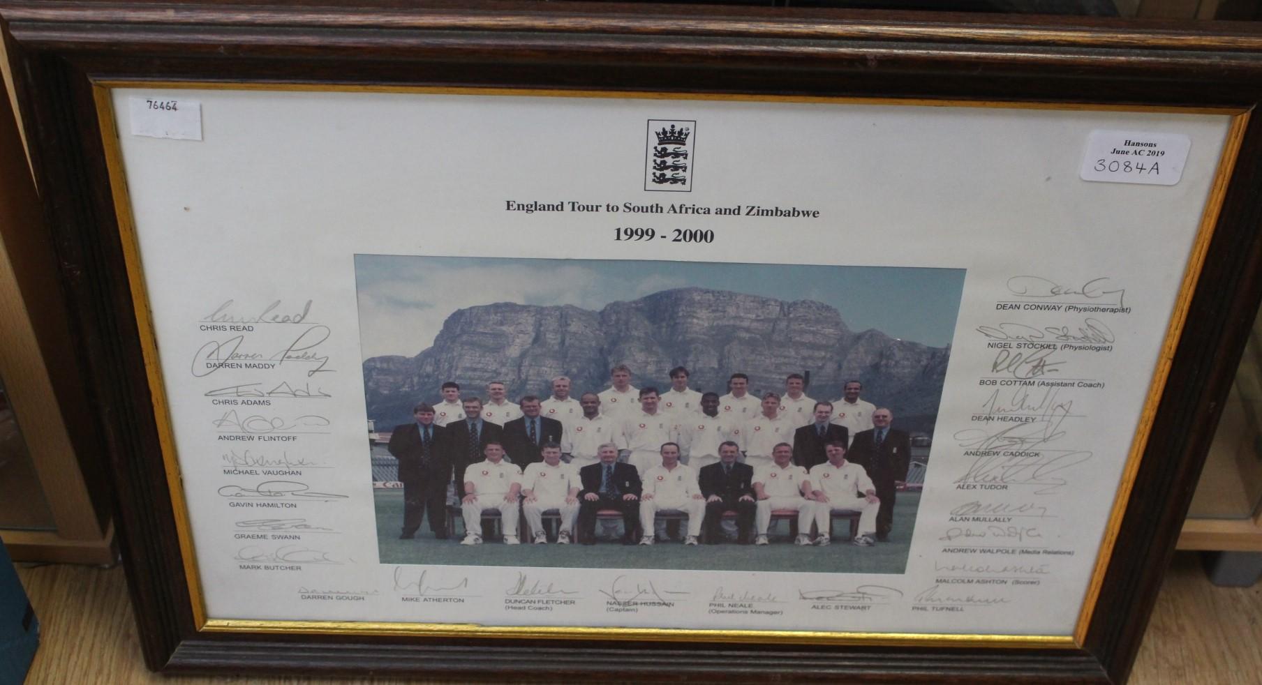 Lot 3120 - Cricket; England Cricket Tour,