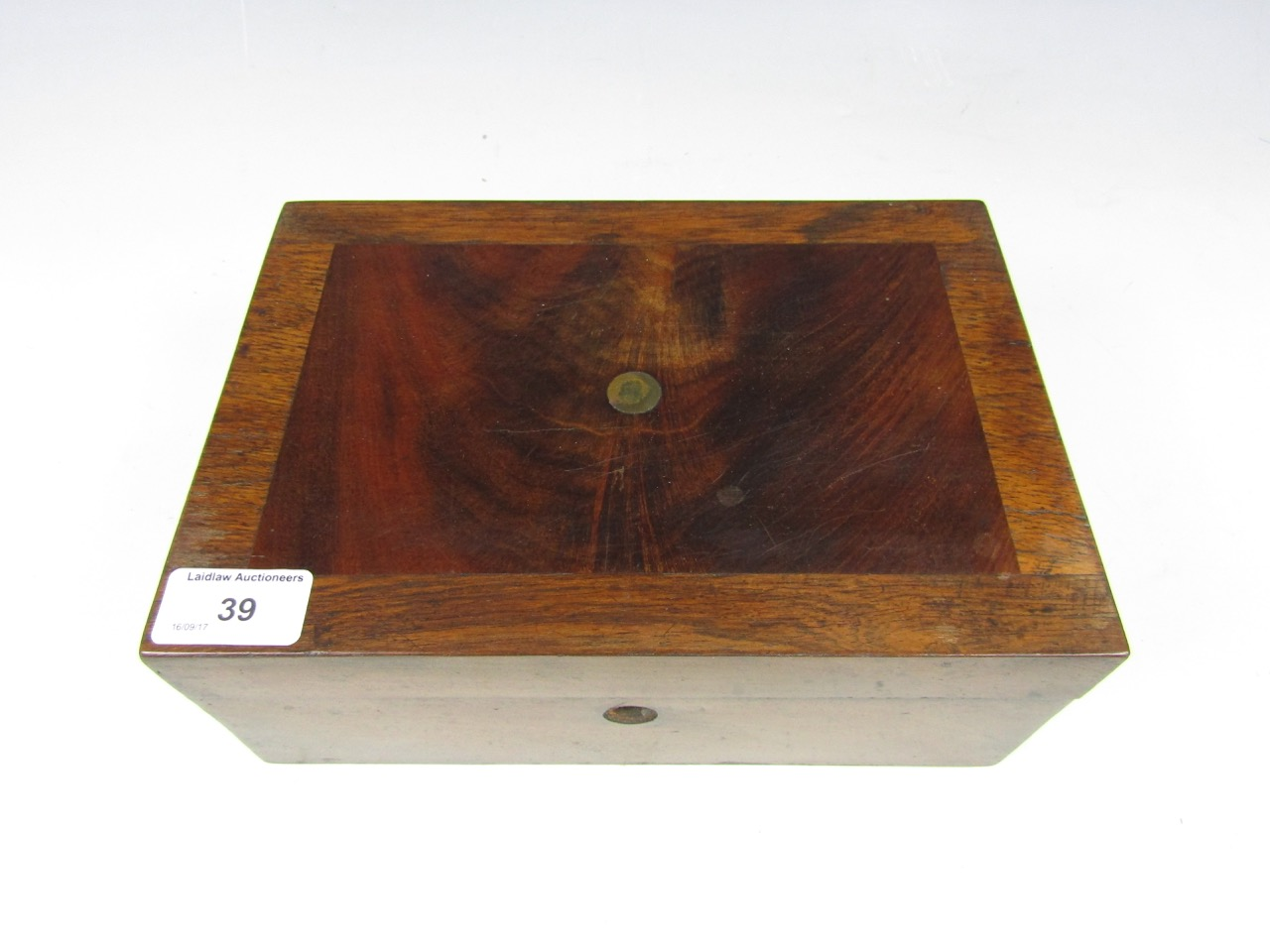 Lot 39 - Two slide viewers together with a mahogany box etc