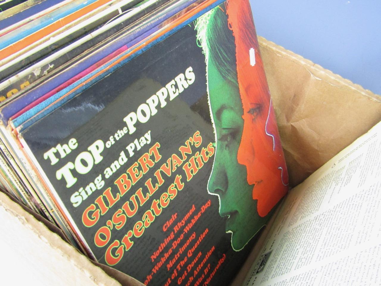 Lot 45 - A quantity of LP records