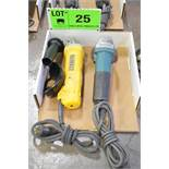 LOT/ ELECTRIC ANGLE GRINDERS