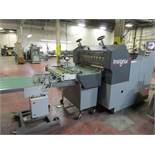 """Rollem Insignia IS7DM 30"""" Rotary Die Cutter, s/n 145, Stripping Unit, Shingle Delivery, Receding"""