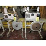 LOT (2) Wexler JD240/30CE96 Automatic Banding Machines, Port. (RIG/LOAD FEE $50.00)