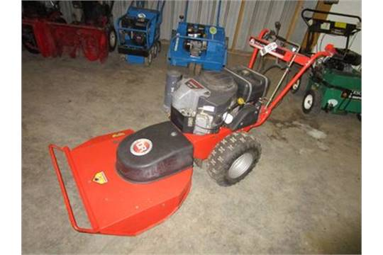 Dr Walk Behind Gas Field Brush Mower W Kawasaki Fs541bv 18 H P Eng