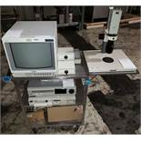 Sony Hyper HAD video CAM WITH Monitor /VCR and Printer with 3 Lenses.