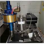 Microfluidizer, Model 110 F, Serial no. 200124, stainless steel product contact.