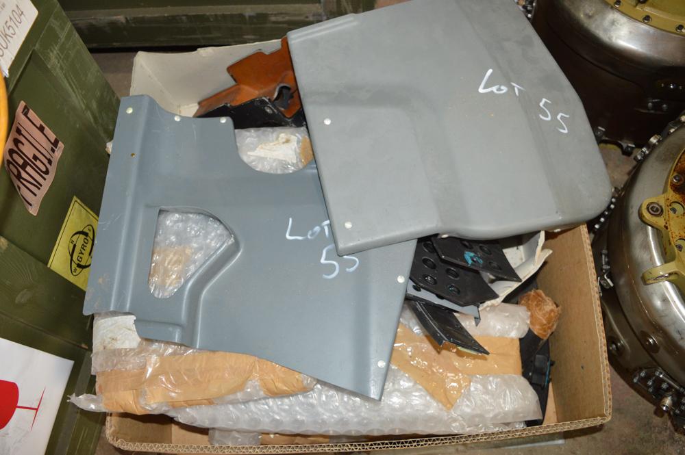 Box of miscellaneous Tornado panels