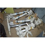 5 - miscellaneous Tornado landing gear legs/components All approximately 800mm long