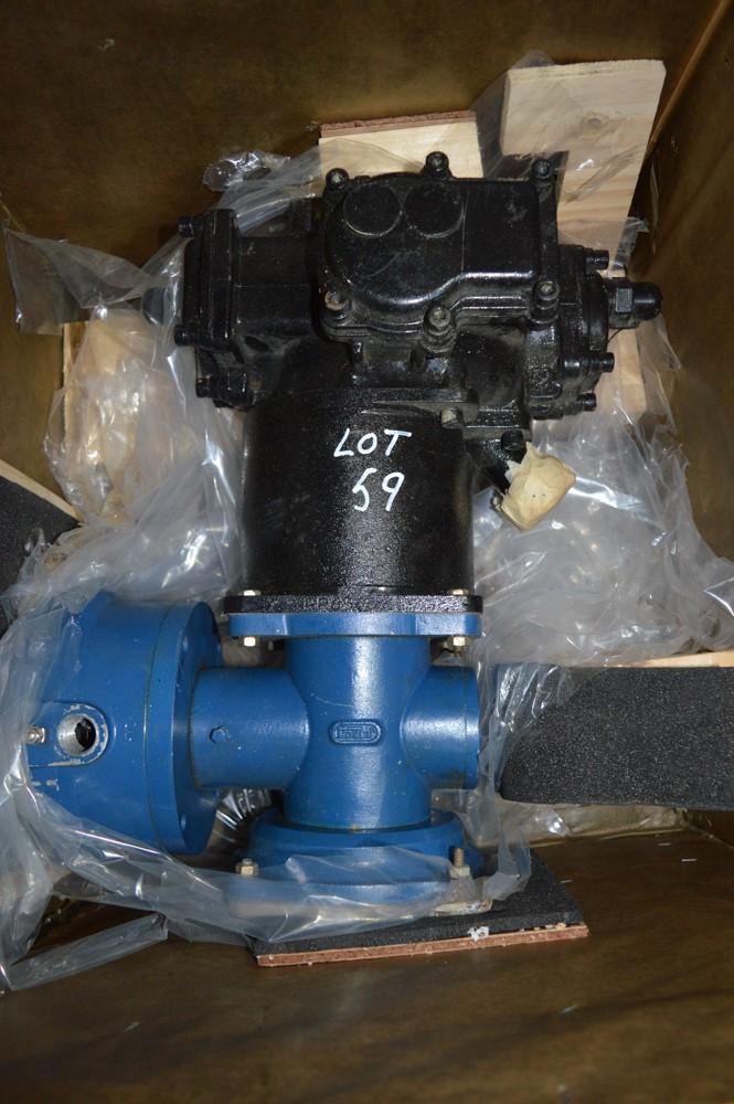 Rolls Royce Tornado fuel pump c/w wooden packing crate