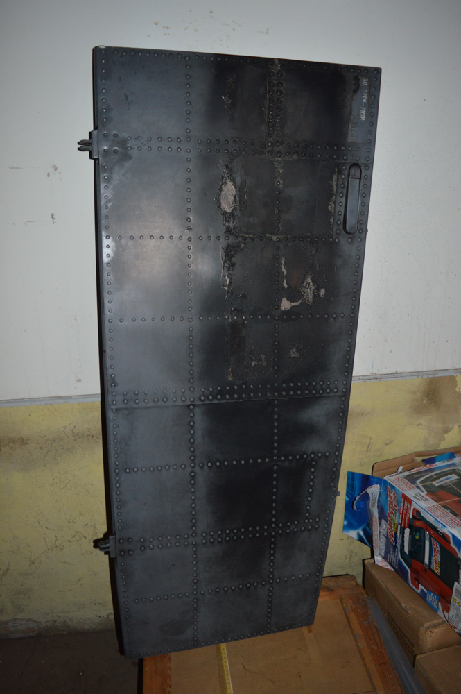 Sea King helicopter hull door Approximately 1400mm x 600mm - Image 2 of 2