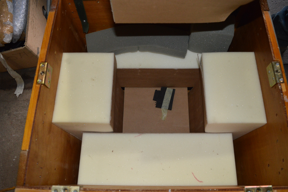 Wooden packing crate 610mm x 560mm x 560mm tall - Image 2 of 2