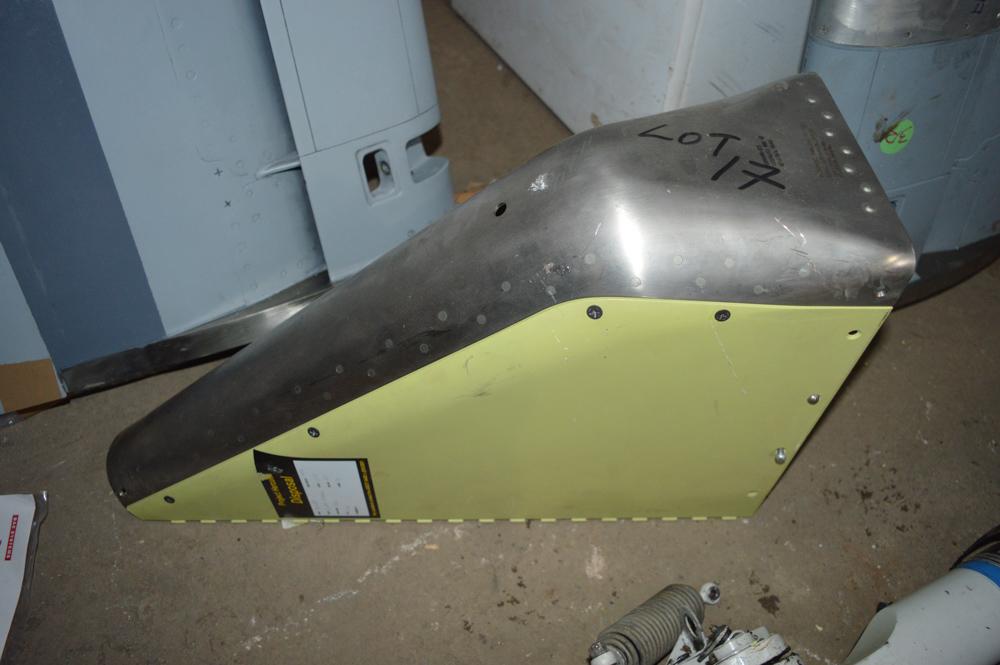 Tornado rudder nib Approximately 550mm x 300mm
